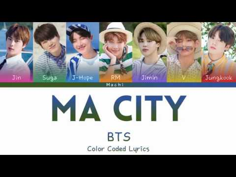 BTS (방탄소년단) - Ma City | Color Coded Lyrics | Han/Rom/Eng