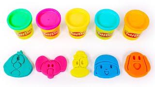 Manualidades de Pocoyó con Play Doh 👶💙🙌 Vídeos para niños