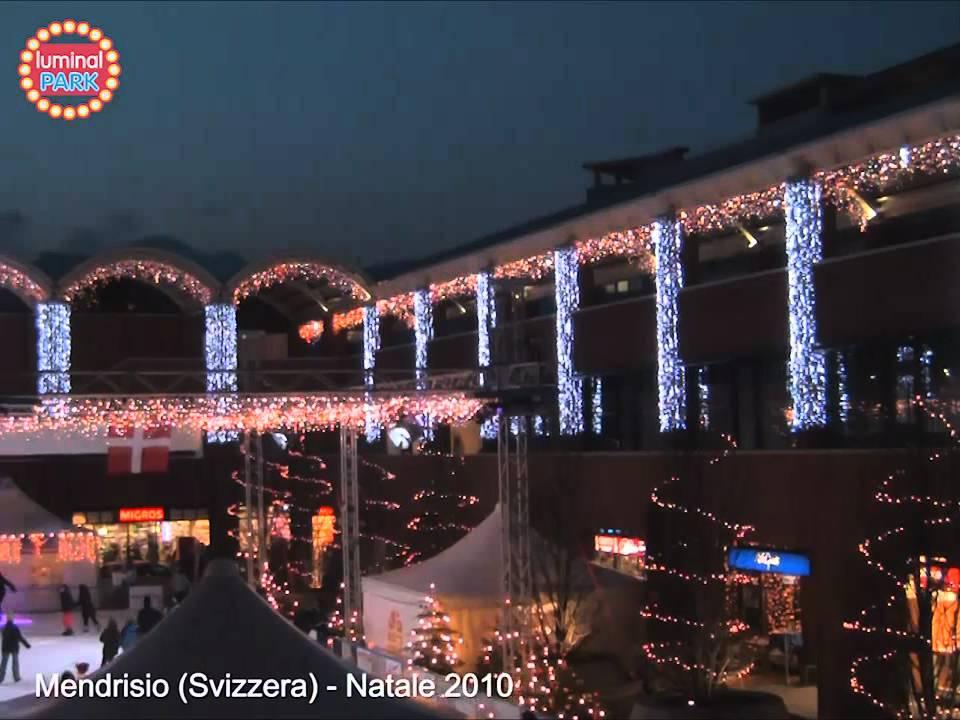 Decorazioni Luminose Natalizie : Decorazioni natalizie a mendrisio svizzera tende luminose e