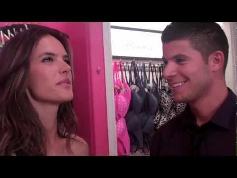 Fashion Night Out Interview: Alessandra Ambrosio