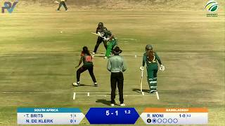 Live Women's Cricket | 3rd T20 | South Africa Emerging vs Bangladesh Emerging