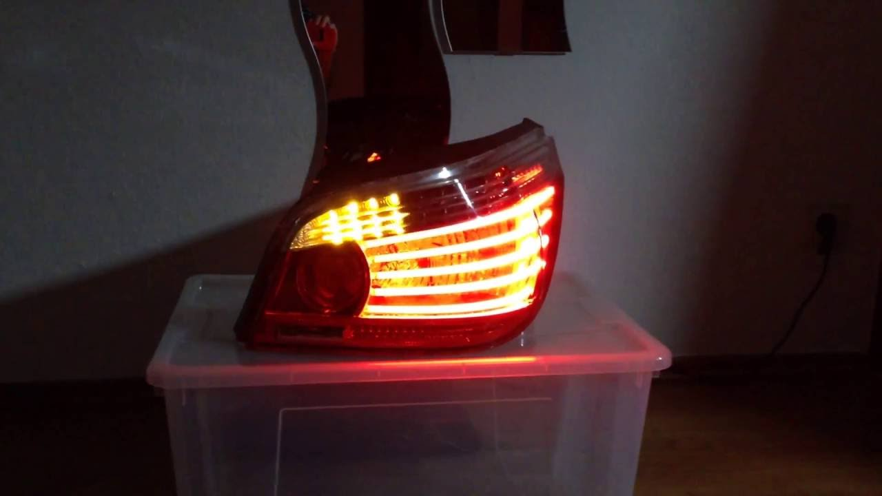 bmw e60 lci dynamic turn signal led lauflicht blinker. Black Bedroom Furniture Sets. Home Design Ideas