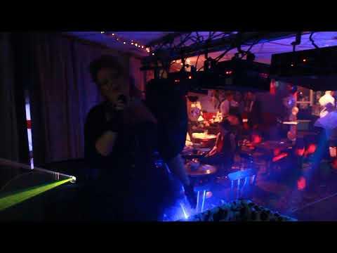 Singer on Karaoke at Snuffy's bar Great Harwood Blackburn with Dj Aldini