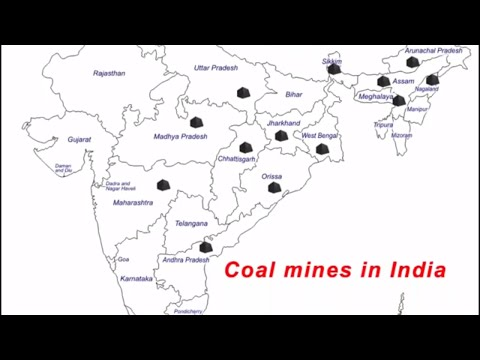 Where are the coal mines in India