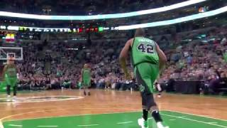 Al Horford Highlights vs San Antonio Spurs (12 pts, 10 reb, 4 ast, 3 blk)