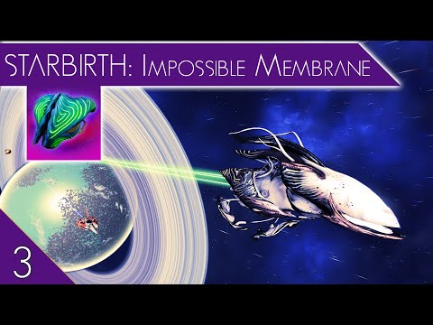Impossible Membrane | No Man's Sky Starbirth Walk-through Episode 3 | NMS Living Ship Update Xaine