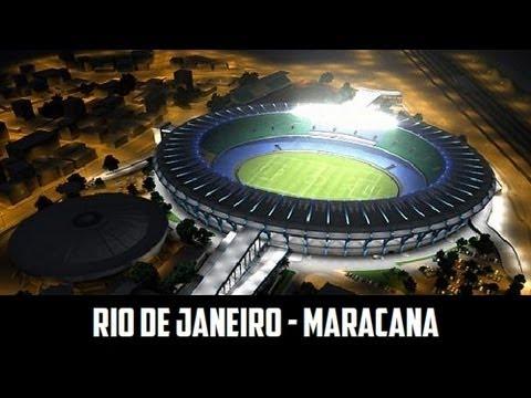 Maracanã Stadium Rio de Janeiro - FIFA World Cup 2014 Brazil
