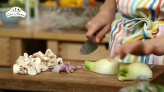 Мясо баранины с грибами [Рецепты по-домашнему]