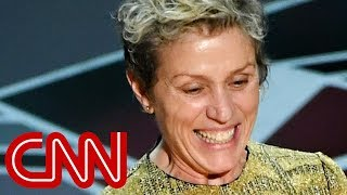 Frances McDormand explains Oscars inclusion rider remark
