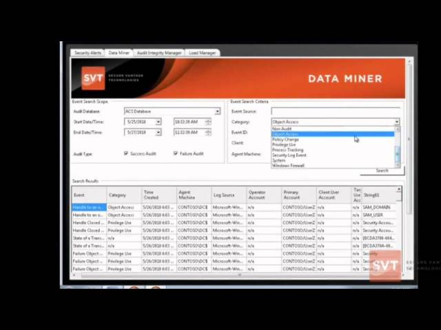 Security Auditing for SCOM ACS | Audit Manager 2010 Product Demonstration