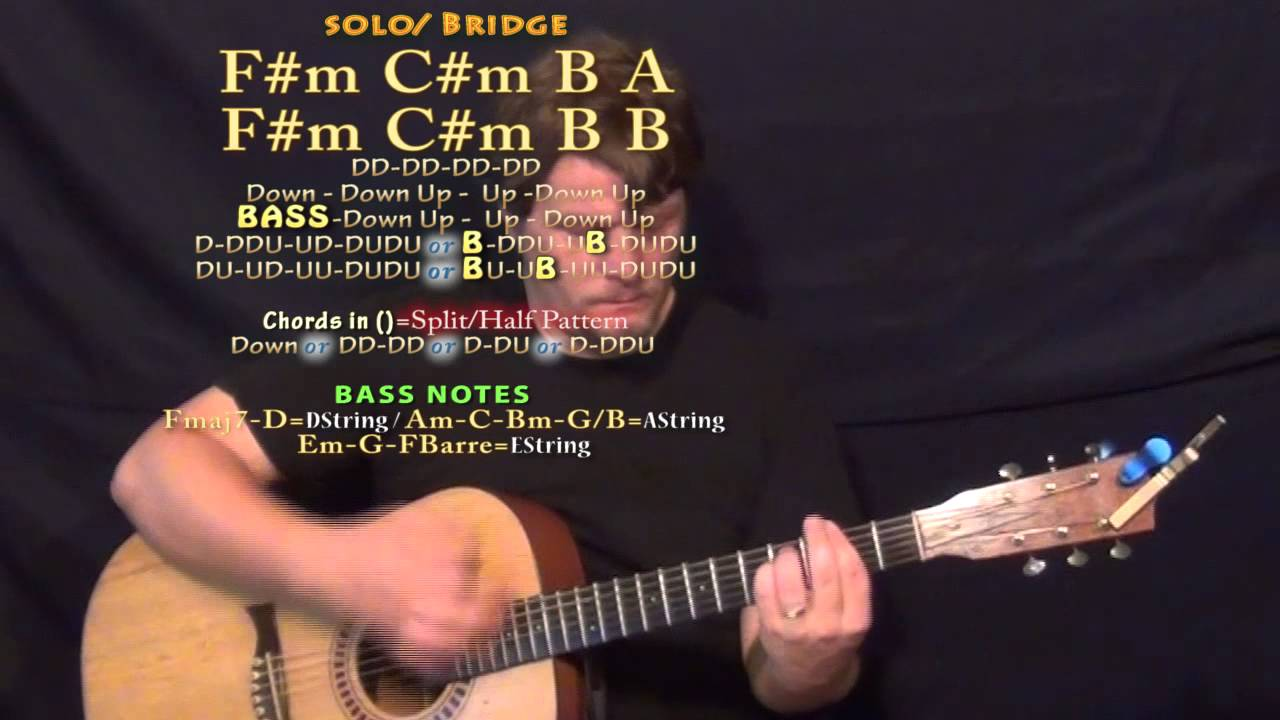 Shine Years Years Guitar Lesson Chord Chart In E Major Youtube