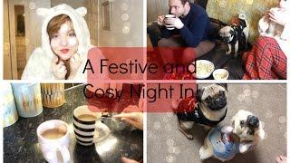 A Festive Cosy Night In | LiddieLoo Thumbnail