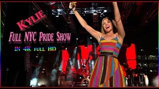 Kylie Minogue Performs On NYC's Gay Pride - Full Show in 4K!!