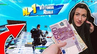 SOLDI REGALO FOR EVERY KILL on FORTNITE to MY SORELLA!! - Fortnite ITA (Royal Battle Challenge)