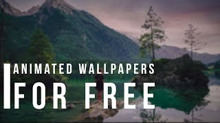 Get Free Animated Wallpapers On Windows