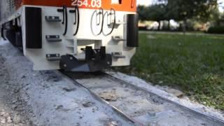 Locomotora 254. Via renovada (3)