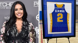 Vanessa Bryant Posts Tribute to Daughter Gianna as School Retires Her Jersey