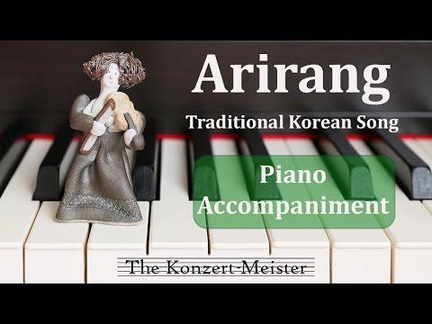 "How To Play ""Arirang"" On Violin [Piano Accompaniment]"