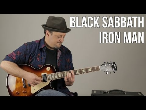 Iron Man Guitar Lesson - Black Sabbath - Ozzy - How to Play on Guitar - Rock