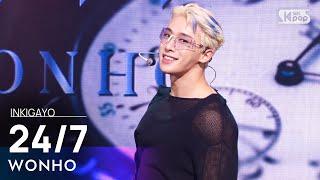 Download Mp3 WONHO 24 7 인기가요 inkigayo 20210919