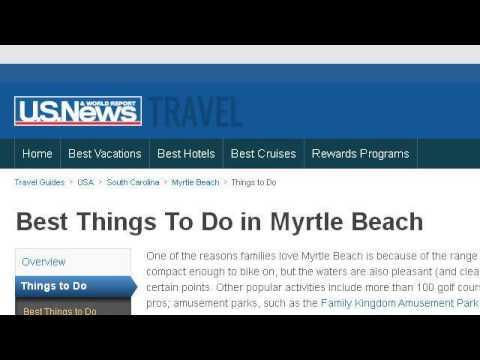 How To Snorkel In Myrtle Beach