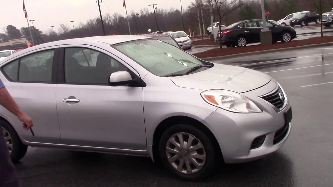 2012 Nissan Versa In Roanoke Rapids N C Walkaround Youtube