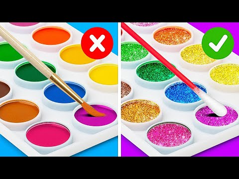 Paint A Masterpiece With This Easy Hacks