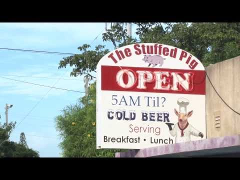 The Stuffed Pig Restaurant In Marathon, Florida Video By Conch Records Of The Florida Keys