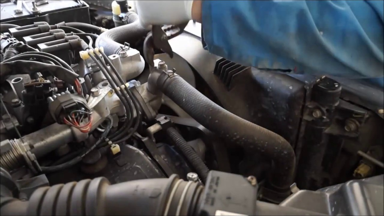 V6 Mitsubishi Ml Triton Timing Belt Replacement Time Lapse Youtube For