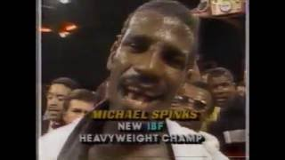 FUNNIEST SPORTS INTERVIEW!! Michael Spinks after Larry Holmes fight