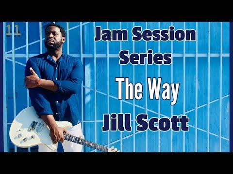 [R&B Guitar Lesson]  The Way by Jill Scott