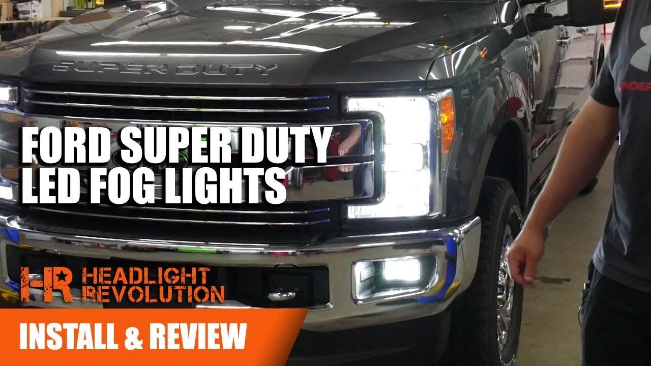 Installing 2017+ Ford Super Duty LED Fog Light Bulbs ...