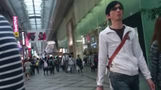 大阪 心斎橋筋 商店街 Shinsaibashisuji Osaka shopping street 地下鉄...