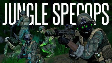 JUNGLE SPEC-OPS INFILTRATION! - ArmA 3 2020 Milsim Gameplay