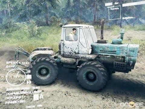 Spin Tires часть 7 Трактор т 150