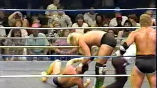 WW 7/29/89- Skyscrapers vs Davey & Johnny Rich- Joe Pedicino
