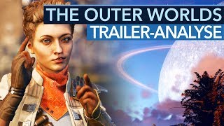 The Outer Worlds ist ein SciFi-Fallout von Obsidian - Trailer-Analyse
