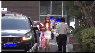 200918 LOVELYZ (러블리즈 ) 뮤직뱅크 중간출근