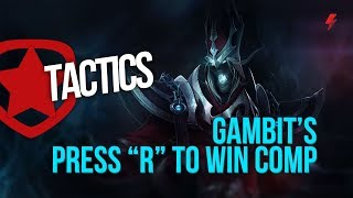 Gambit's obnoxious Press R to win comp (Karthus, Jhin, and Nocturne combo) (MSI 2018)