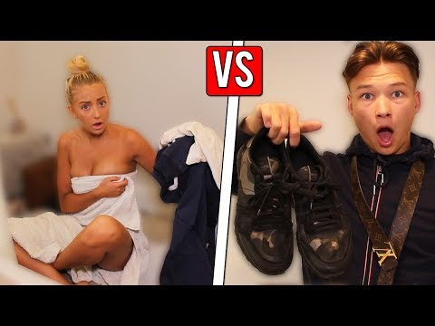 BOYS vs GIRLS *GOING ON A NIGHT OUT*