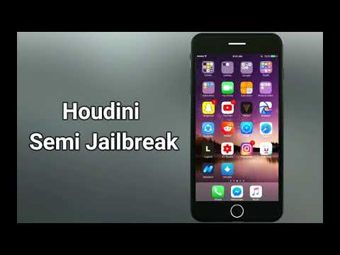 Houdini Semi jailbreak iOS 10 to iOS 10.3.2