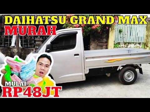 UPDATE DAFTAR HARGA DAIHATSU GRAND MAX PICK UP BEKAS MURAH