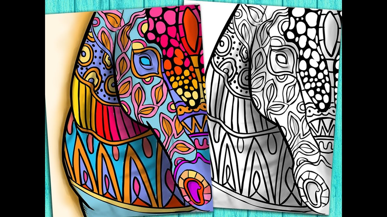 youtube coloring pages for adults - photo#6