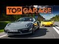 Lamborghini Aventador Coupé vs. Porsche 911 Turbo S Cabrio   Top Garage