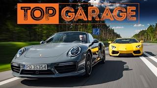 Lamborghini Aventador Coupé vs. Porsche 911 Turbo S Cabrio | Top Garage