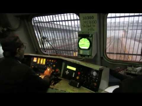 SHATABDI EXPRESS LOCO CAB RIDE (FOOTPLATE) : Inside WAP 7 at 130 KMPH