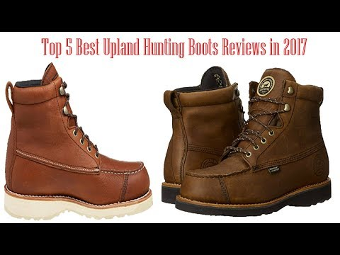 Top 5 Best Upland Hunting Boots Reviews In 2017