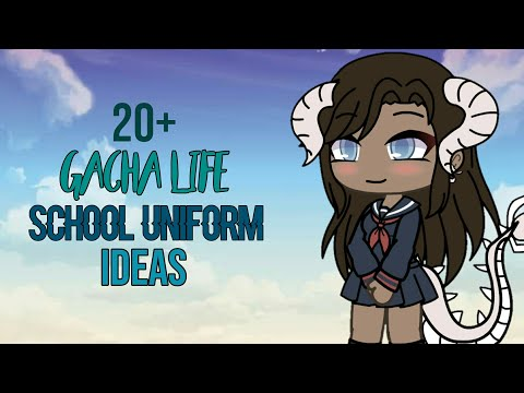 20+ School Uniform Ideas [Gacha Life] , YouTube