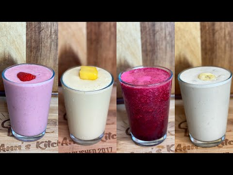 4 Healthy Everyday Smoothie Recipes