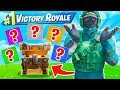 WINNING with FIRST RARITY ONLY Challenge in Fortnite!
